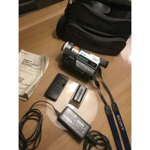Digitale Video Camera Sony Digital8 DCR-TR7000E