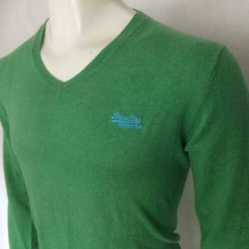 Superdry trui - cashmere blend green