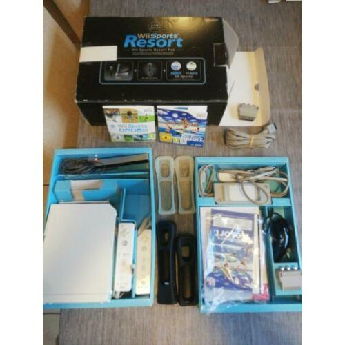 Complete Wii in doos + accessories