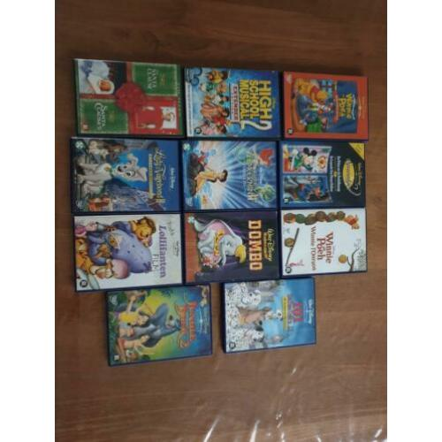 Originele Disney dvd's