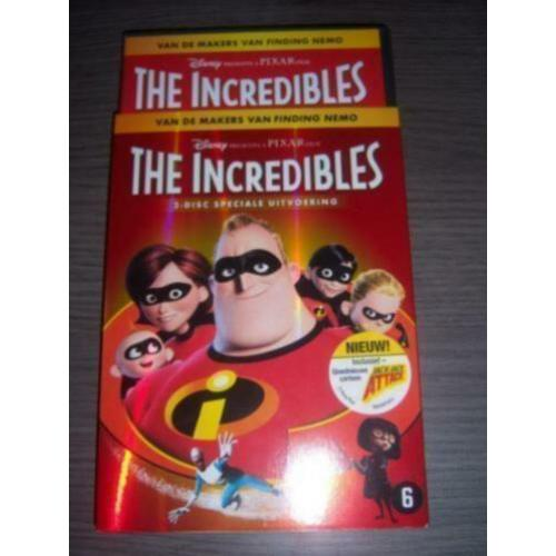 Disney Pixar THE INCREDIBLES 1 (2-disc) met schuifhoes