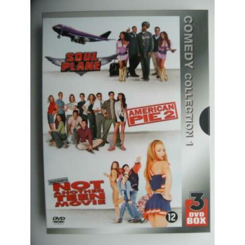 DVD - Comedy collection 1 ( o.a Soul Plane American pie