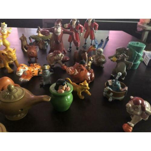 Veel Disney figuren