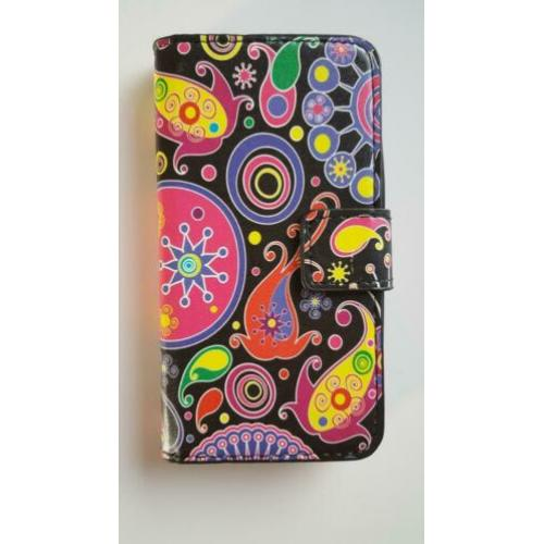 Samsung Galaxy S5 Mini Bookcase Flip Cover Wallet case hoes.