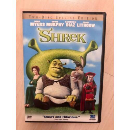 DVD Shrek (2001) US Import Regio 1