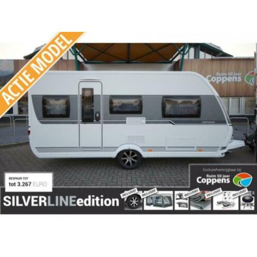 Hobby On Tour 460 dl 2020 SILVERLINE met €2750,-