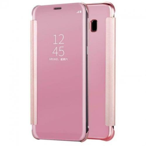Clear View Cover Set voor Galaxy Note 8 _ Roze Goud