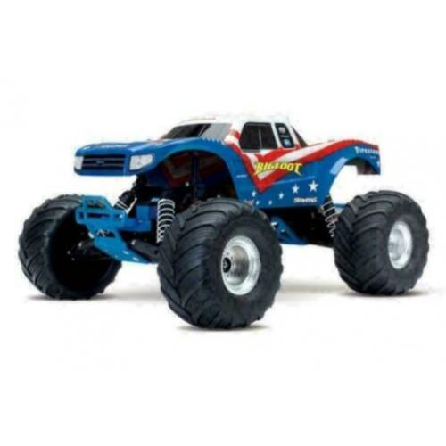Traxxas Big Foot 1/10th Monstetruck RTR rood wit blauw met a