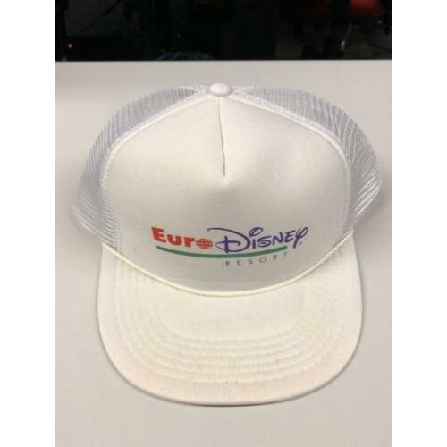 Euro disney white baseball cap