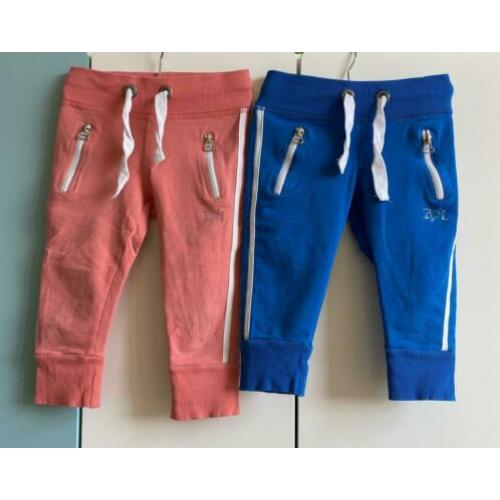 Billy en Lilly 3/4 broek capri mt 110/116 zgan